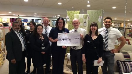 Glasswells in Ipswich Raise Vital Funds for Suffolk Mind