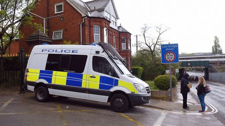 Police investigations following the fatal stabbing of Dean Stansby Picture: ARCHANT