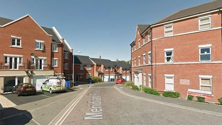The reports were made in Meridian Rise, Ipswich Picture: GOOGLE