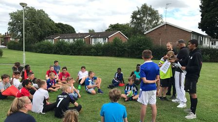 Positive Futures has been delivering sports in Ipswich Picture: CATCH 22, POSITIVE FUTURES