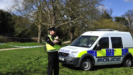 Police in Christchurch Park (stock image) Picture:: ARCHANT