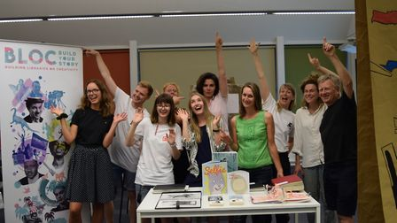 The Building Libraries on Creativity scheme is launched at Ipswich County Library. Picture: SUFFOLK