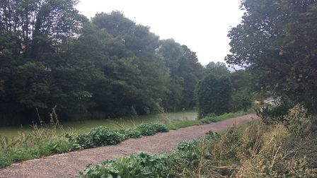 The body was pulled from the river Gipping near argos Picture: ARCHANT