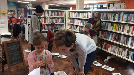 Children at a previous Beach Bonkers event at Chantry Library. Picture: BEACH BONKERS