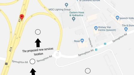 The proposed new services Picture: GOOGLE MAPS