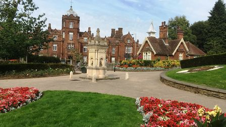 The Upper Arboretum in Christchurch Park - a colourful oasis in the town. Picture: PAUL GEATER