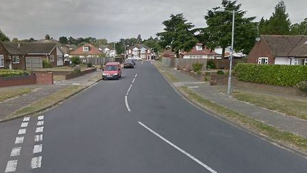 The accident happened in Gleneagles Drive, Ipswich Picture: GOOGLE