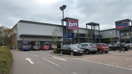A planning application has gone in for the unit next to B&M in Ransomes Europark Picture: ARCHANT
