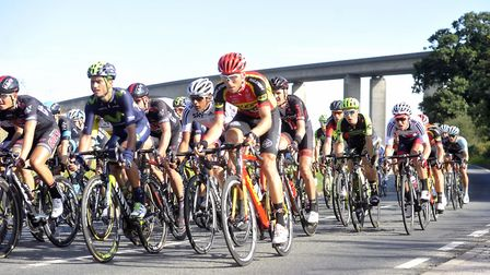 Ipswich has welcomed cyclists for official road races including the Aviva Men's Tour - but should ri
