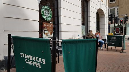 Ipswich Starbucks could be closing Picture: NEIL DIDSBURY