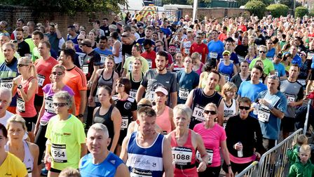 Great East Run bosses said 10,000 letters had been issued to homes and businesses over road closures