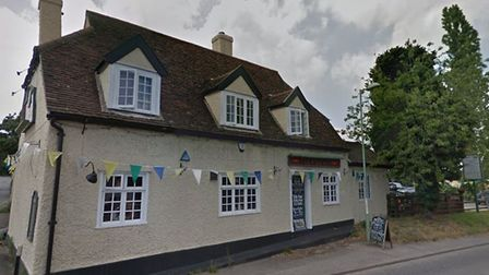 The crash happened near the Wild Man pub in Sproughton Picture: GOOGLE
