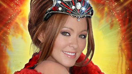 Natasha Hamilton is to star in Snow White and the Seven Dwarves at the Ipswich Regent Theatre. Pictu