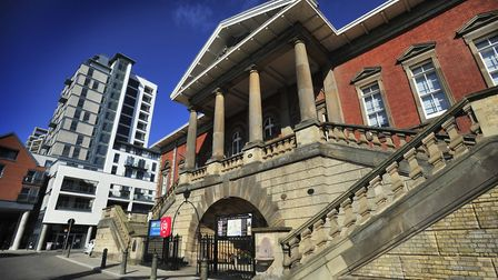The Old Custom House that will be open as part of Ipswich Heritage Open Days. Picture: LUCY TAYLOR