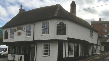The Old Bell Inn. Picture: IPSWICH SOCIETY