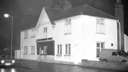 Spotted Cow, Ipswich, in 1975