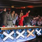 The Judges at Blackpool auditions Picture:Tom Dymond/Thames/Syco/REX Shutterstock