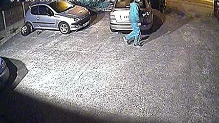 CCTV image released in connection with a recent vehicle crime in Ipswich Picture: CONTRIBUTED