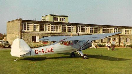 Auster Autocrat outside terminal Picture: COURTESY OF IPSWICH AIRPORT ASSOCIATION