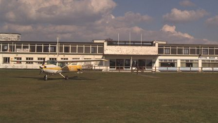 Pitts Bar from apron Picture: COURTESY OF IPSWICH AIRPORT ASSOCIATION