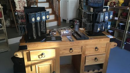 The new Harry Potter shop in Ipswich Picture: SOPHIE BARNETT