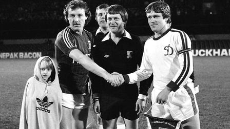 Did you attend his testimonial match in 1982?