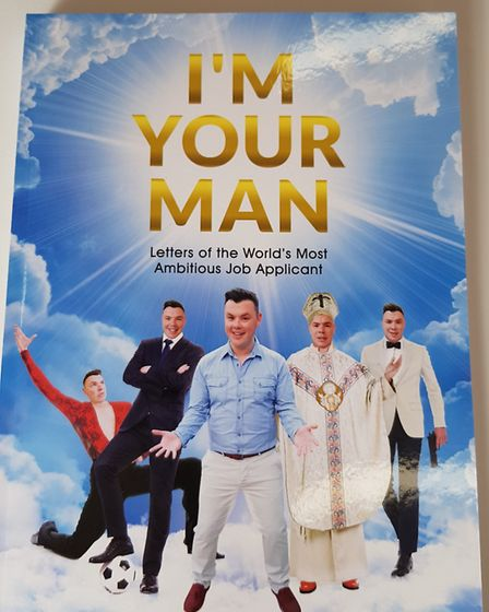 Sam Broadley, author and performer. Applied for 40 high profile jobs including the pope and PM.