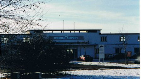 Terminal Building 1990s Picture: COURTESY OF IPSWICH AIRPORT ASSOCIATION