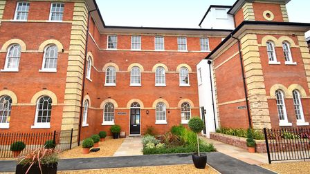The former Ipswich hospital has been transformed. Picture: FENNWRIGHT