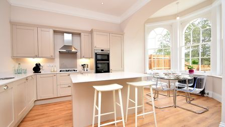The kitchen dining area at the property Picture: FENNWRIGHT