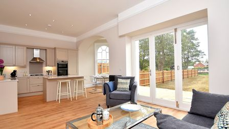 Sitting area in the Kitchen. Picture: FENNWRIGHT