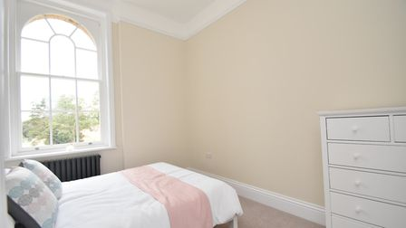 One of the bedrooms in Belgrove Place Fenn Wright Picture: FENNWRIGHT