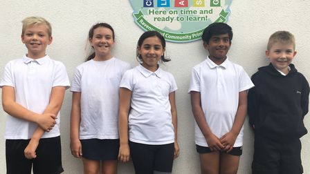 The pupils take part in a daily mile walk at school and will soon be allowed to help choose what spo