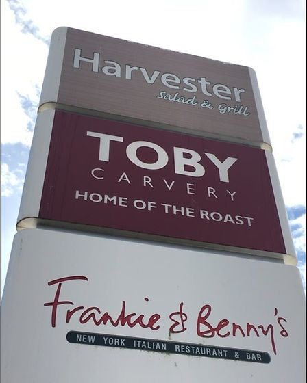 There is also a Toby's, Haverster's, Frankie and Benny's and Chiquito restaurants on a nearby estate