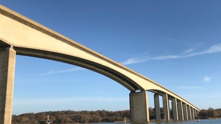 The Orwell Bridge should not close tonight, according to experts Picture: ARCHANT