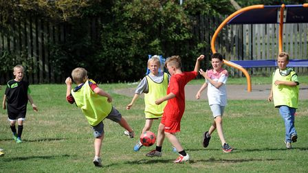 The free iCards over summer 2018 in Ipswich allowed youngsters to enjoy sports sessions Picture: PHI