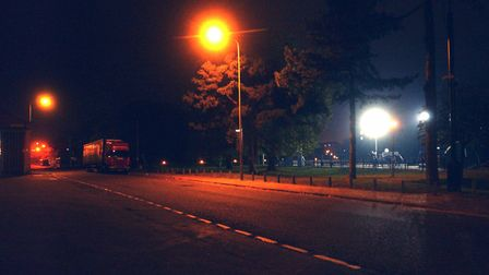 Sir Alf Ramsey Way at the time of the Ipswich murders, where sex workers would often be seen Picture