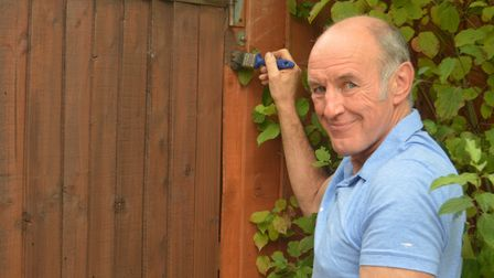 Chris Temple, 64, who lives in Ipswich with wife Val, travels up to 70 miles at a time to help famil