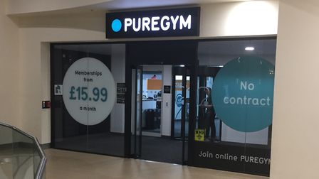 The outside of PureGym Picture: ARCHANT