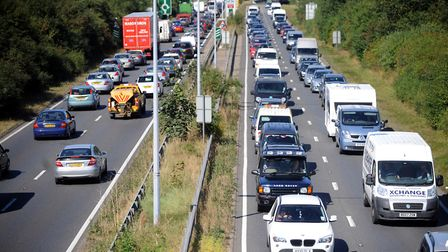 Delays have been reported on the A12 near Martlesham Picture: ARCHANT