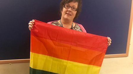 Kesgrave High School has achieved a Stonewall award for its diversity work. Picture: KESGRAVE HIGH S