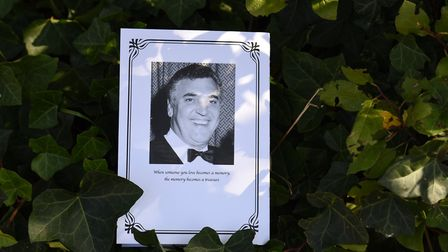 The order of service for Bob Shelley's funeral Picture: SARAH LUCY BROWN
