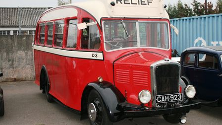 The recently-restored Dennis Ace bus at Ipswich Transport Museum. Picture: PAUL GEATER