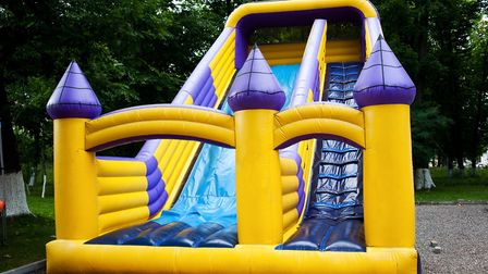 Concerns have been raised over the safety of inflatable play equipment (stock image)Picture: GETTY I