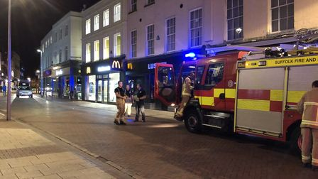 The Tavern Street McDonalds was evacuated and no one was hurt as a result of the carbon dioxide leak