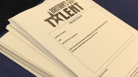 Britain's Got Talent Auditons in Ipswich. Picture: Victoria Pertusa