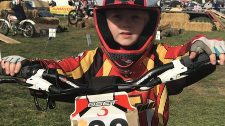 Youngsters enjoy the sunshine at the 27th Copdock Motorcycle Show in Trinity Park, Ipswich. Picture: