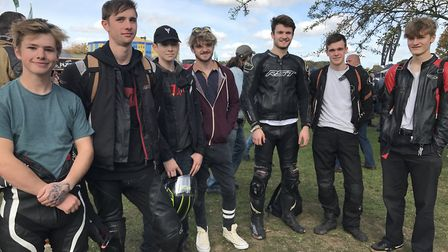 Copdock Motorcycle Show in Trinity Park, Ipswich. Picture: Victoria Pertusa