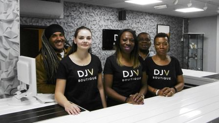 It is the big reveal for the DJV Boutique, Mandy Errington opens he new business in Cox Lane on Satu