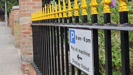 Parking ticket hotspots in Ipswich - Fonnereau Road Picture: SARAH LUCY BROWN